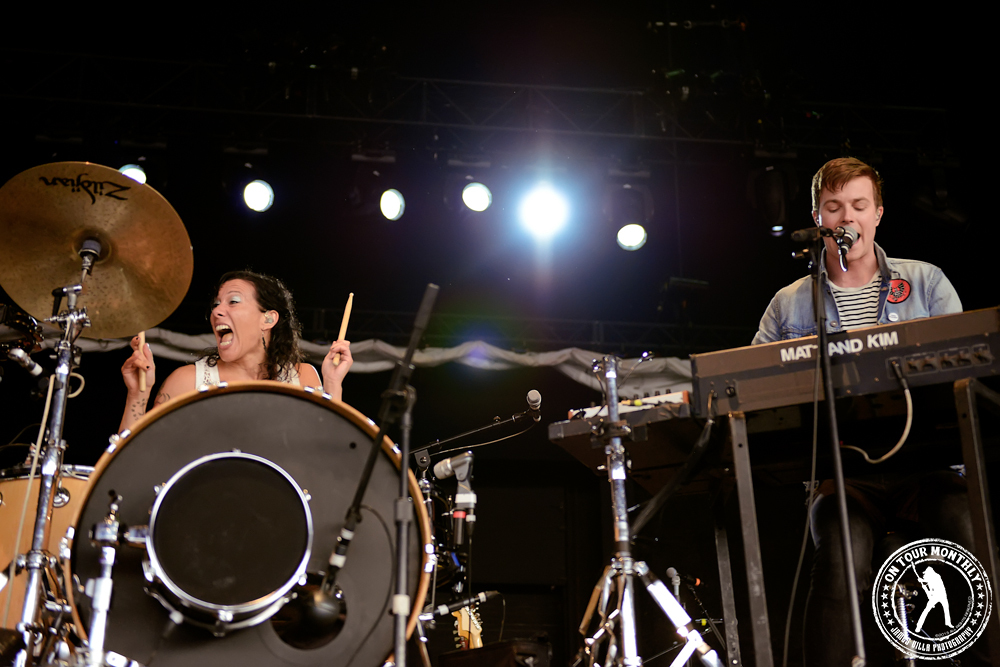 Matt & Kim | KXT SUMMER CUT (Gexa Energy Pavilion - Dallas, TX) 6/1/13
