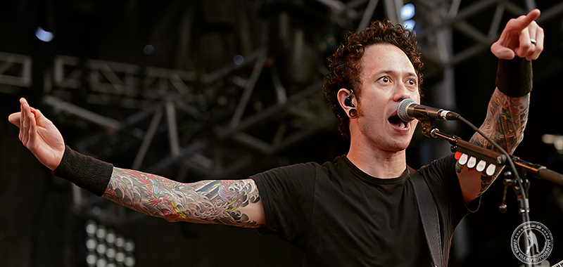 Matt Heafy - Trivium / Trespass America Tour (Zoo Amphitheater, Oklahoma City, OK) 8/24/12