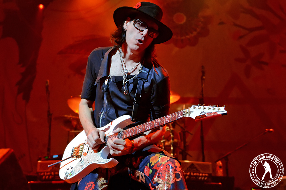 Steve Vai Electrifies The House Of Blues In Dallas Tx On Tour Monthly