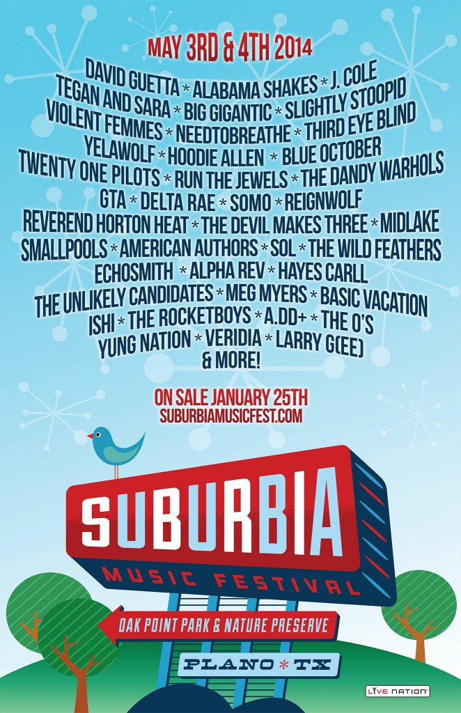 Suburbia Music Festival 2014