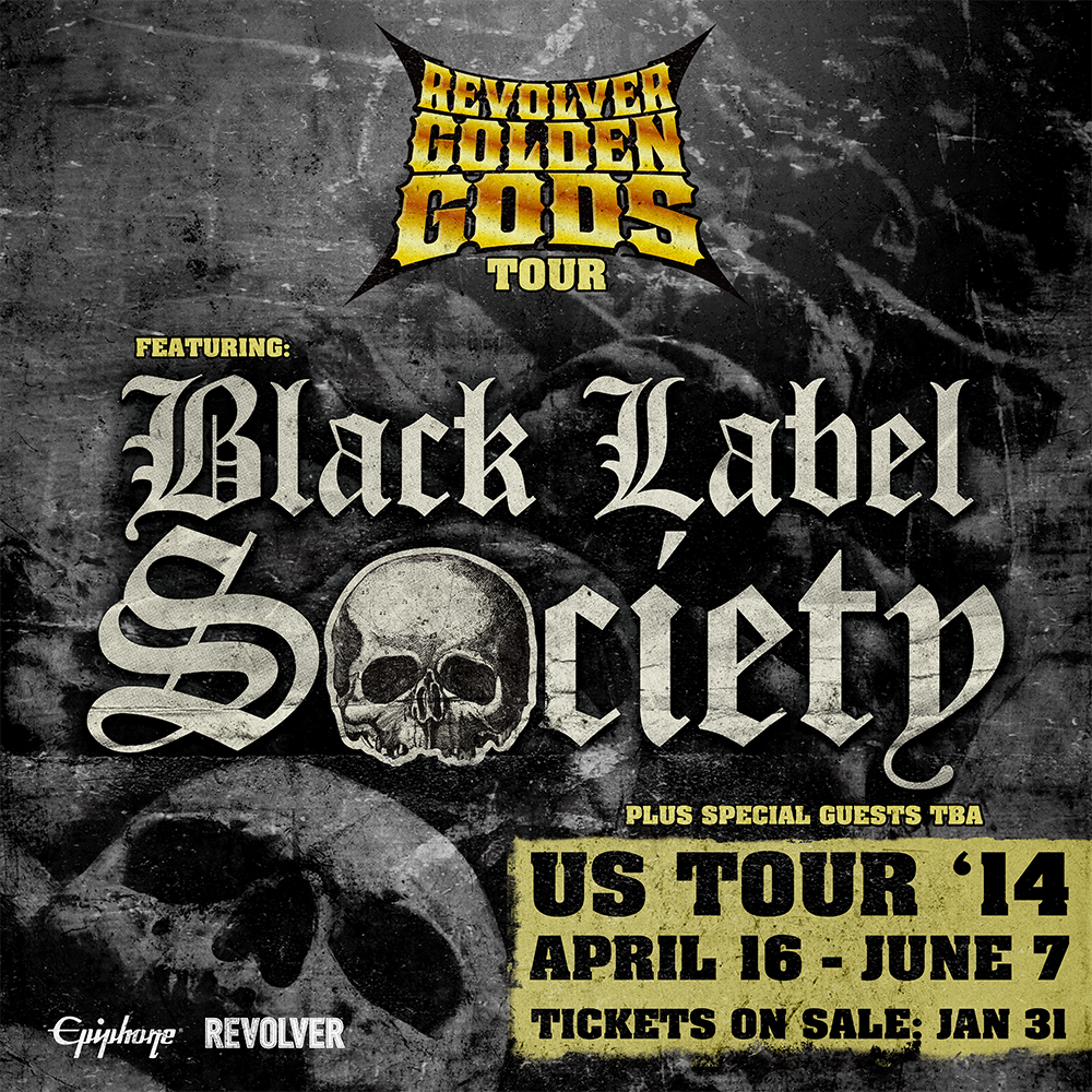 Revolver's Golden God Tour 2014