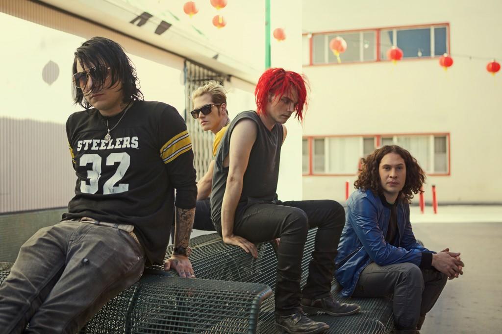 My Chemical Romance // Photo by Neil Krug