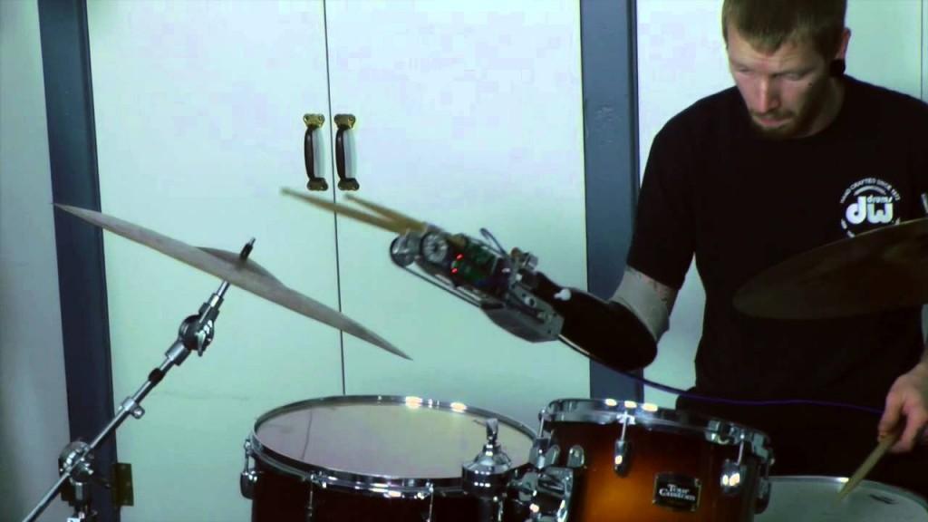 Jason Barnes // Robotic Drumming Prosthesis