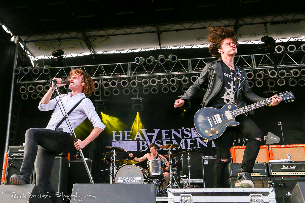 Heaven's Basement - Rocklahoma 2014 - Hard Rock Stage