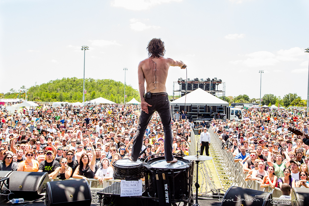 Jonny Hawkins - Nothing More - Fort Rock 2014