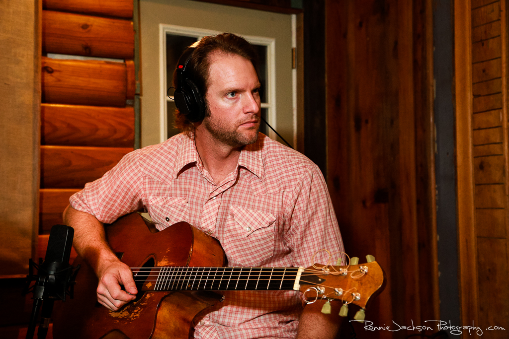 "Aaron Borden (Exit 380) - ""Photomaps"" Recording Sessions at Big Acre Sound, Photo by Ronnie Jackson"