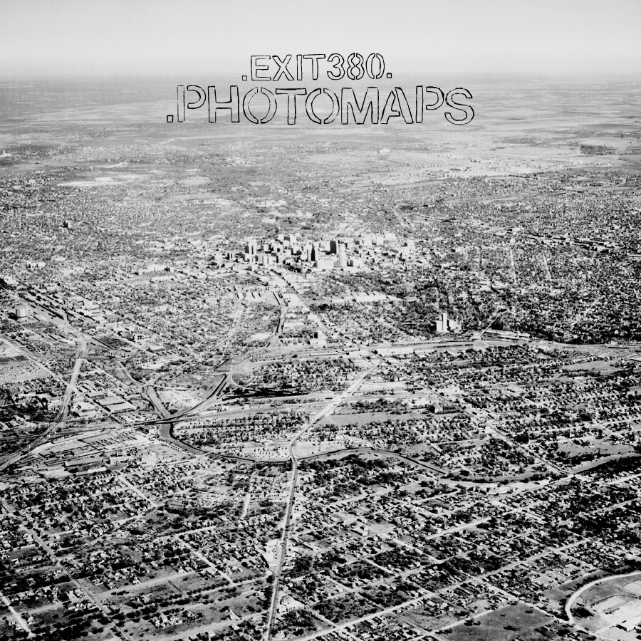 """Photomaps"" by Exit 380 // Limited Vinyl LP Reissue // Spring 2015"