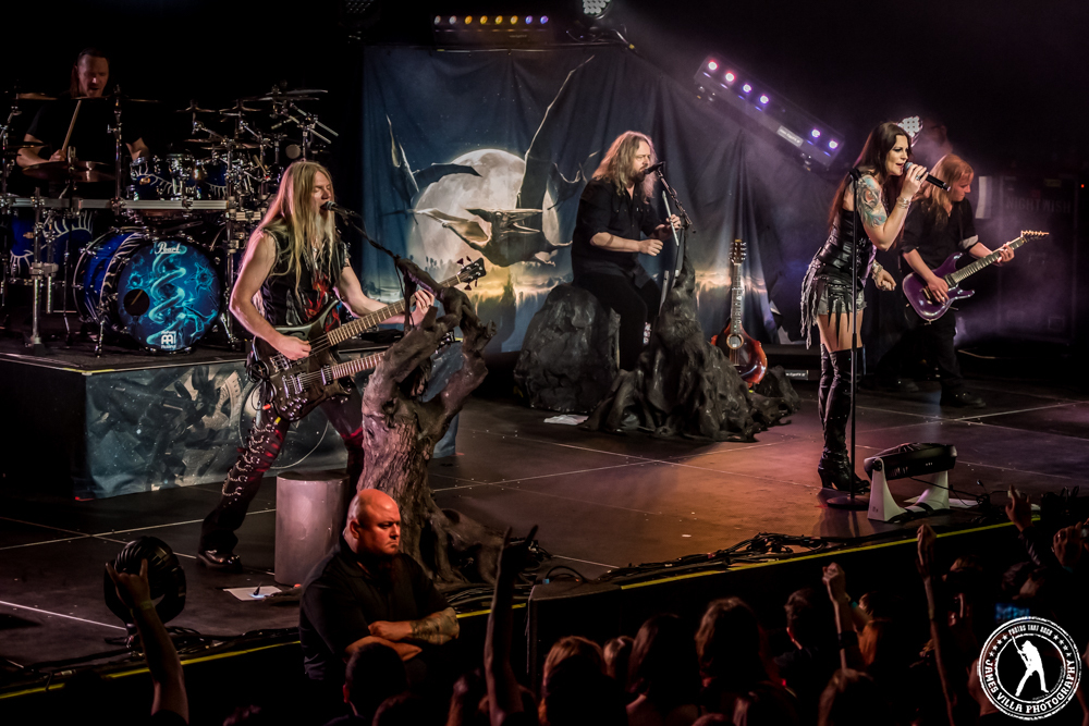 Floor Jansen - Nightwish (The Bomb Factory - Dallas, TX) 5/5/15