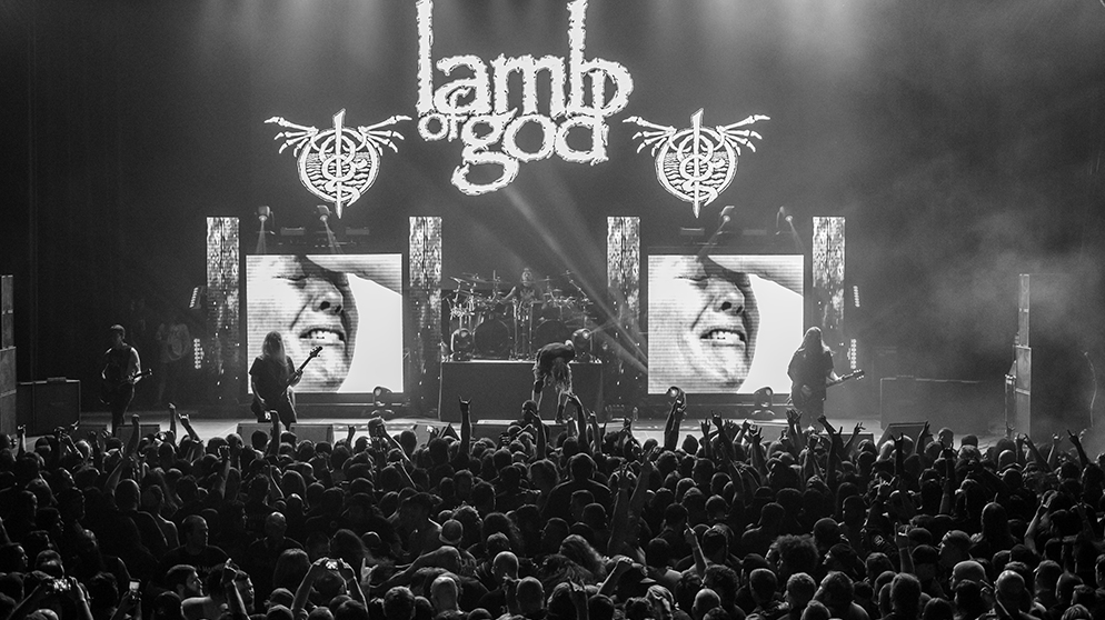 Lamb Of God Engage The Fear Machine At The Bomb Factory In