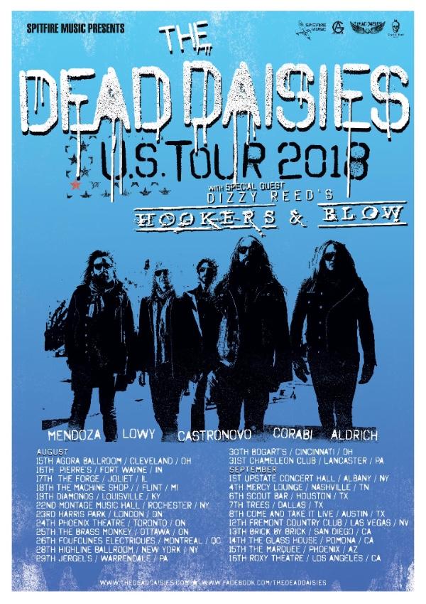 The Dead Daisies 2018