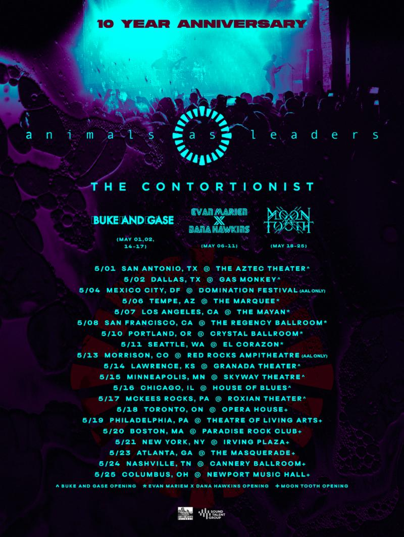 Animals As Leaders 2019